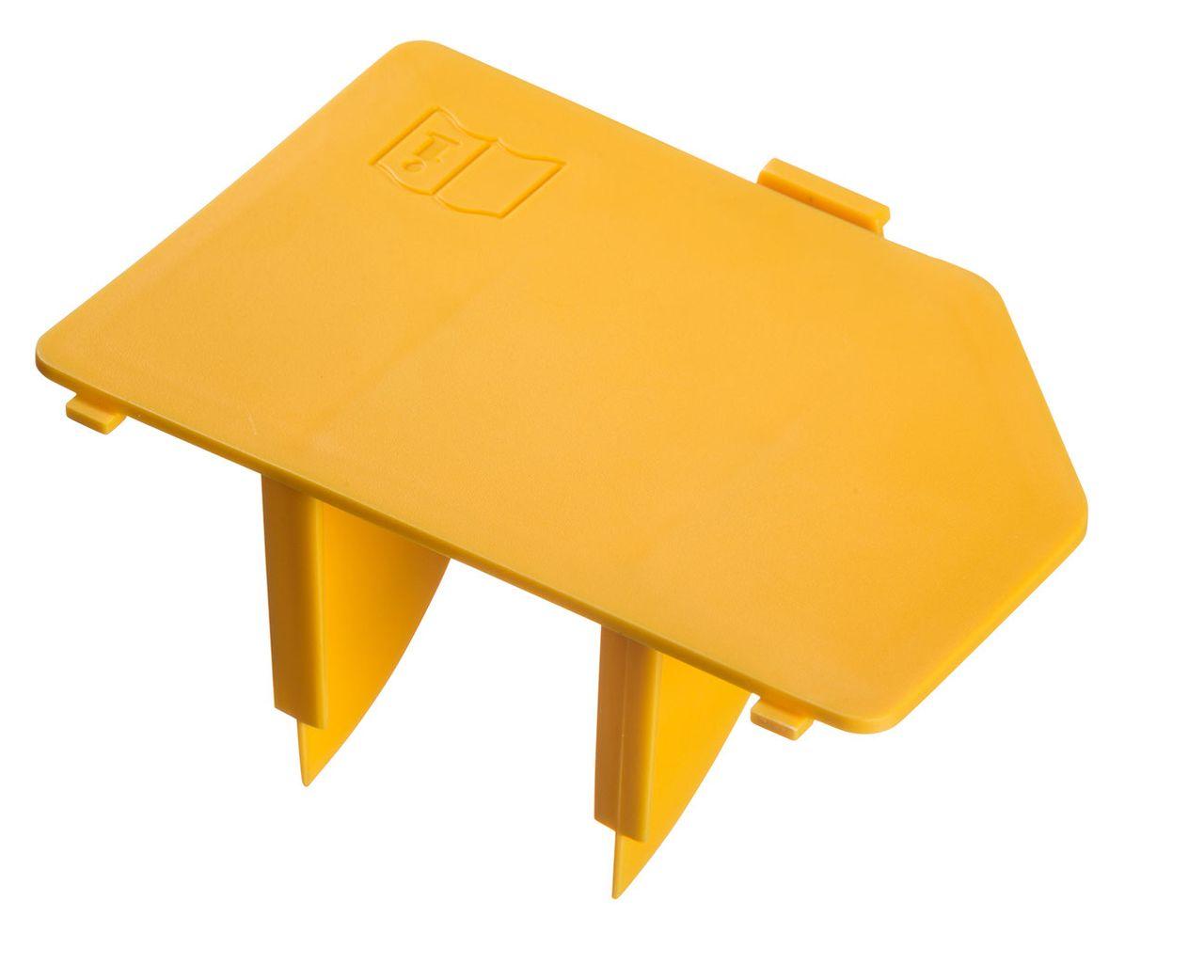 Couvercle filtre à air, jaune, W 890 Flexio