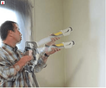 Blog repeindre murs et plafonds pistolet peinture wagner - Peindre plafond au pistolet ...